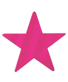 Metallic Star - Magenta