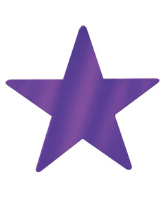 Metallic Star - Purple