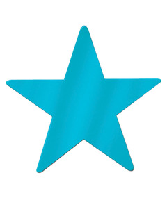 Metallic Star - Teal