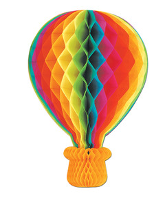 Rise Up With Jesus: Hot Air Balloon Hanging Decoration
