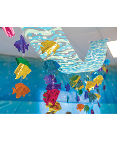 Tropical Fish Ceiling Decor