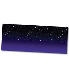 Starry Night Plastic Backdrop