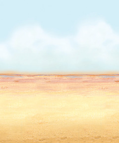 Desert Sky and Sand Theme Backdrop