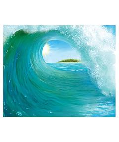 Surf Wave Mural