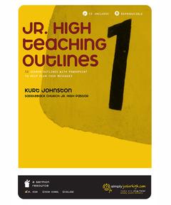 Jr. High Teaching Outlines Vol. 1 (download)