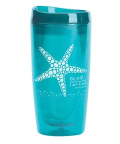 SeaSide Escape Starfish Tumbler