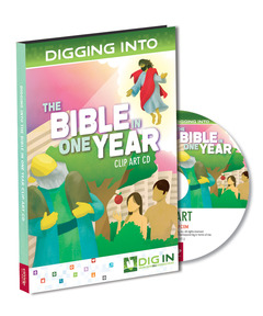 DIG IN, The Bible in One Year Clip Art CD