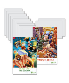 DIG IN, The Bible in One Year Preschool & Elementary Bible Point Posters: Quarter 4