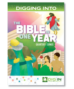 DIG IN, The Bible in One Year Album Download: Quarter 1