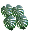 Fabric Palm Leaves