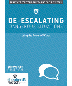 De-Escalating Dangerous Situations DVD: Using the Power of Words
