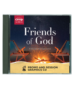 Friends of God Promo and Session Graphics CD