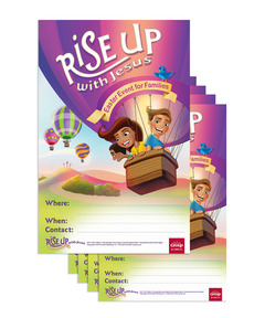 Rise Up With Jesus: Publicity Posters