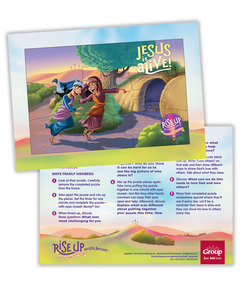 Rise Up With Jesus: Puzzle