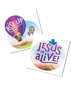 Rise Up With Jesus: Skin Decals