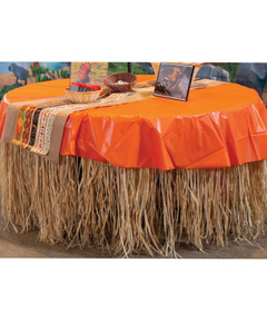 Zoofari Raffia Table Skirt