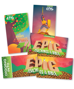 DIG IN, Epic Teachings of the Bible Giant Poster Pack