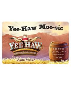 Yee-Haw Moo-sic Download Card