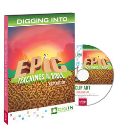 DIG IN, Epic Teachings of the Bible Clip Art CD