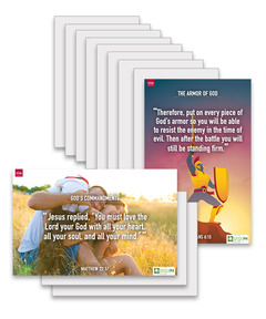 DIG IN, Epic Teachings of the Bible - Bible Verse Poster Pack - Download