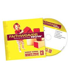 FaithWeaver NOW Infants, Toddlers, and 2s CD - Spring