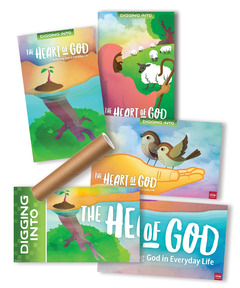 DIG IN, The Heart of God Giant Poster Pack