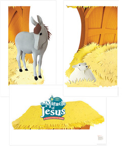 Miracle of Jesus Photo-Op Poster Pack