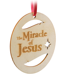 Miracle of Jesus Ornament
