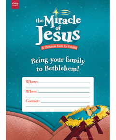 Miracle of Jesus Publicity Posters