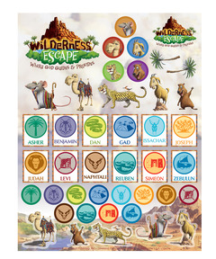 Wilderness Escape Sticker Sheets