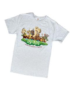 Wilderness Escape Theme T-Shirt Adult 4XL (48-60)