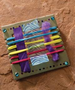 Tiny Tapestry Loom Kits