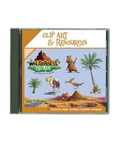 Wilderness Escape Clip Art & Resources CD