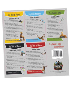 Try This at Home Sticker Sheets