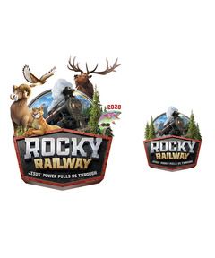 Rocky Railway Iron-On Transfers