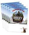 Rocky Railway Publicity Posters
