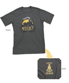 Rocky Railway VBS Staff T-Shirt, Adult L (42-44)