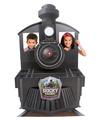 Rocky Railway Train Display