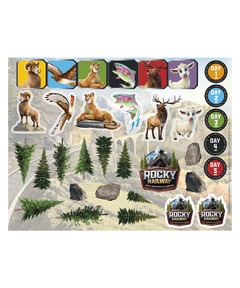 Rocky Railway Sticker Sheets