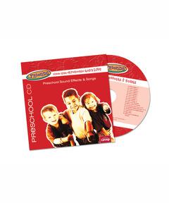 FaithWeaver Friends Preschool Sound Effects & Songs CD - Fall 2020