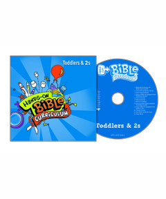 Hands-On Bible Curriculum Toddlers & 2s Extra CD - Fall 2020