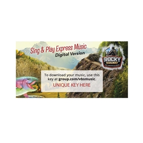 Sing & Play Express Music Album Download Codes