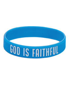 God Is Faithful Wristbands
