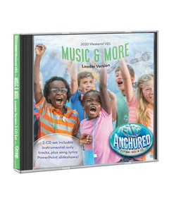 Anchored Music & More Leader Version 2-CD Set