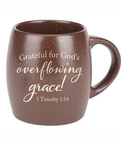 Cafe Chocolat Overflowing Grace Mug