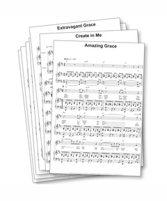 Cafe Chocolat Worship Sheet Music Download