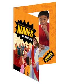 Heroes Unmasked Foto Frames