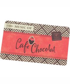Music of Cafe Chocolat Download Card