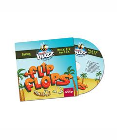 Buzz Pre-K&K Flip Flops CD - Spring 2021