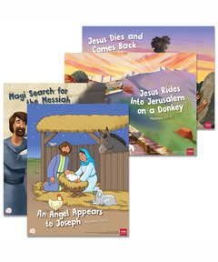 Simply Loved Bible Story Posters - Holiday Year 1